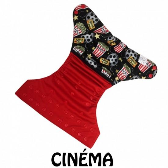 Couche lavable à poche Lya Cinéma (7-35 lbs)