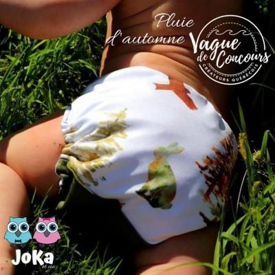 Couche lavable et de piscine à poche Pluie d'automne Joka 2.0