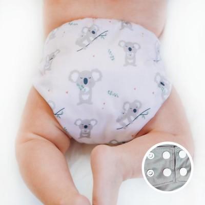 Couche lavable à poche La Petite Ourse Koala (10-35 lbs)