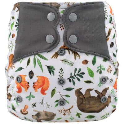 Couche lavable à poche Elf  Spring Bear (8-38 lbs)