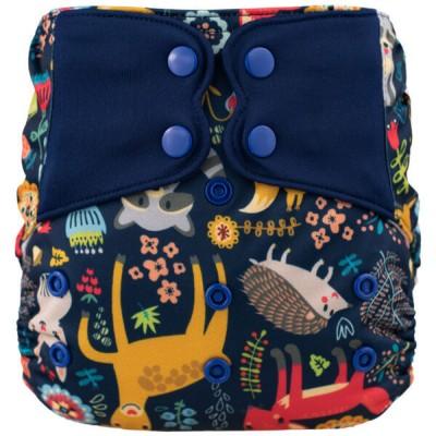 Couche lavable à poche ELF Amis de la forêt (8-38 lbs)