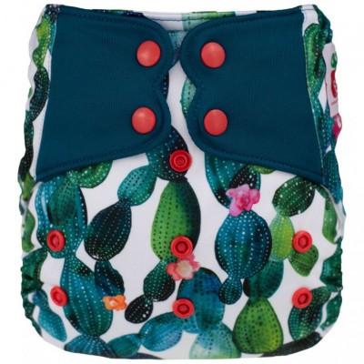 Couche lavable à poche Elf  Cactus (8-35 lbs)