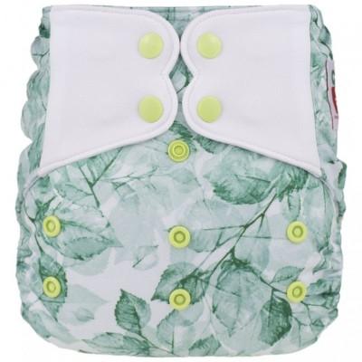 Couche lavable à poche Elf Feuilles d'été (8-35 lbs)