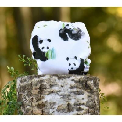 Couche lavable à poche Panda Milan et Odile