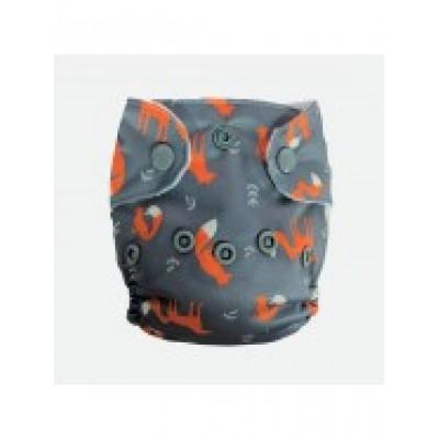 Couche lavable nouveau né Ti-Roux La Petite Ourse (5-10 lbs)