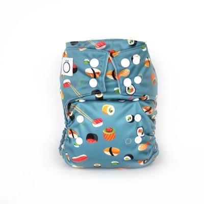 Couche lavable à poche Omaïki Kampai (8-40 lbs)