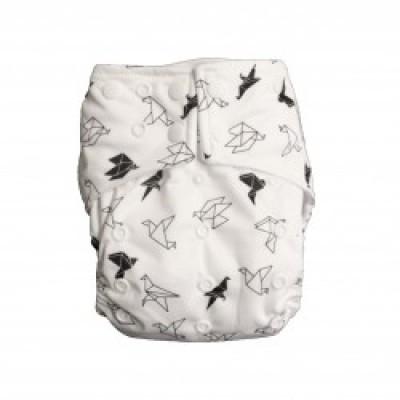 Couche lavable à poche La Petite Ourse Origami (10-35 lbs)