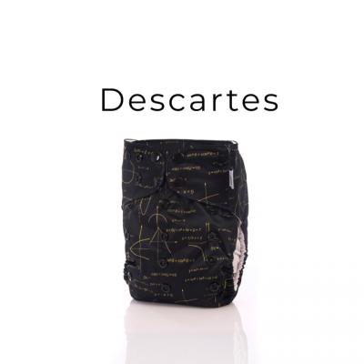 Couche lavable à poche 2.0 Descartes Mme&Co (10-35 lbs)