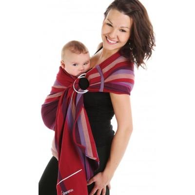 Écharpe de portage ajustable (ring sling) Juillet Chimparoo