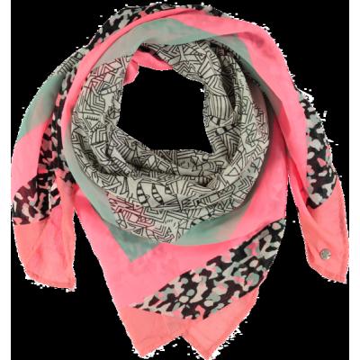 Foulard motif rose Garcia