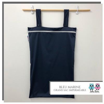 Grand sac pour couches souillées marine Joka