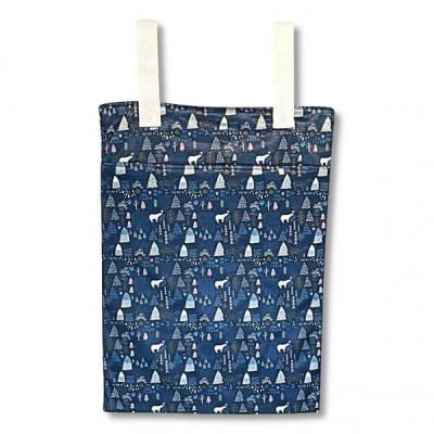 Grand sac pour couches souillées Moutain Blue