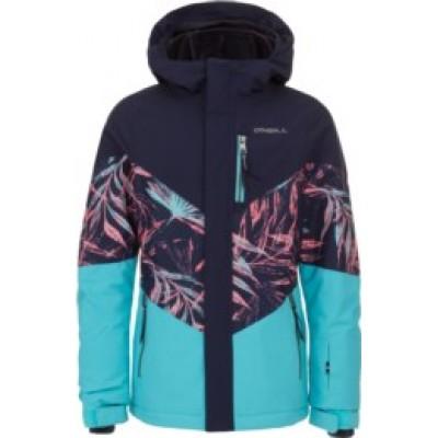 Habit neige (manteau) turquoise/marine O'Neill (8-16 ans)