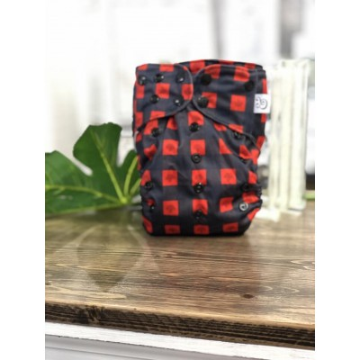 Couche lavable à poche 2.0 Timber Mme&Co