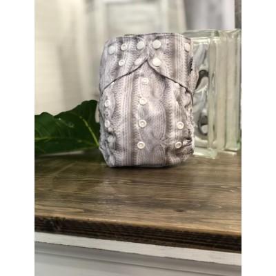 Couche lavable à poche 2.0 Lainage  Mme&Co (8-35 lbs)