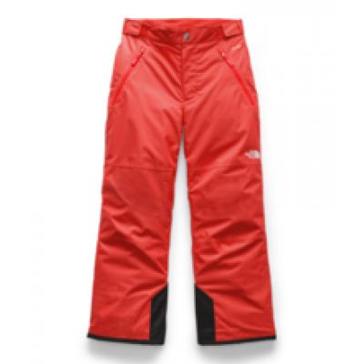 Pantalon de neige rouge orangé North Face