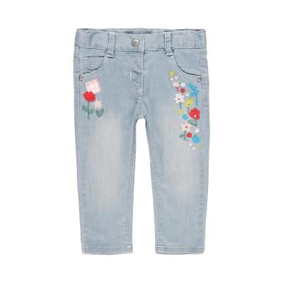 Jeans avec patch Boboli