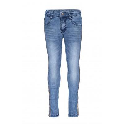 Jeans avec lignes dorées B.Nosy