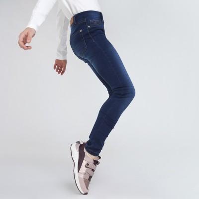 Jeans jegging bleu foncé Mayoral