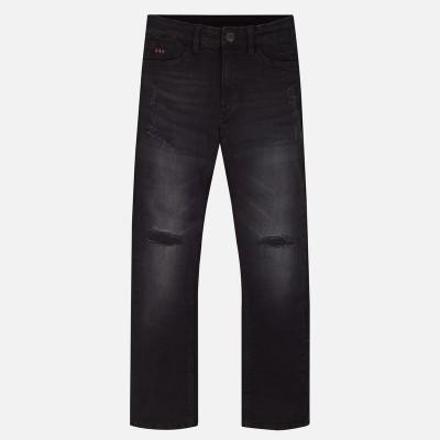 Jeans noir déchiré Mayoral