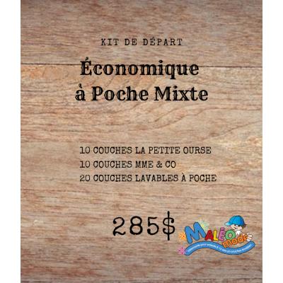 Kit de départ Économique à poche mixte