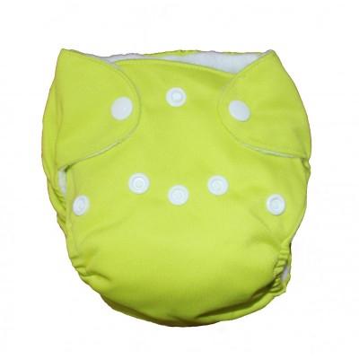 Couche lavable nouveau né Lime La Petite Ourse (5-10 lbs)