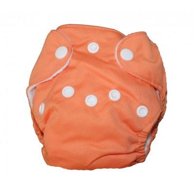 Couche lavable nouveau né Orange La Petite Ourse (5-10 lbs)
