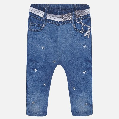 Legging bébé aspect jeans Mayoral