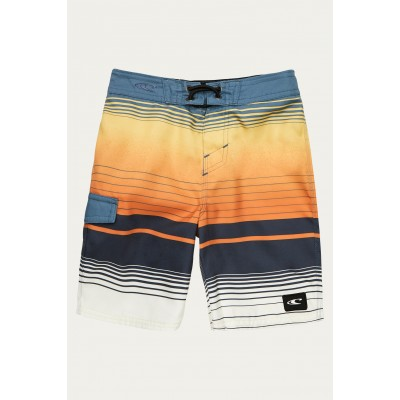 "Boardshort rayé bleu orange O""Neill"