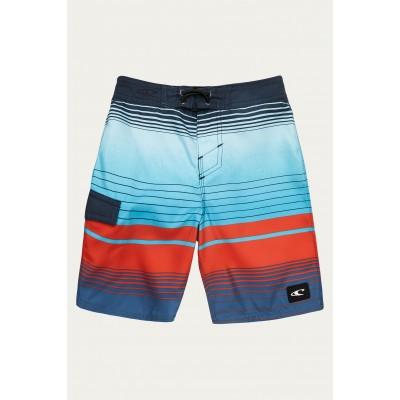 Boardshort rayé marine/rouge O'Neill