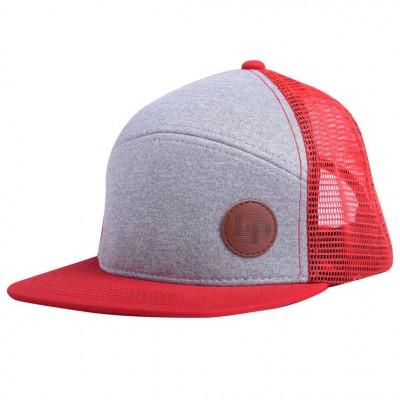 Casquette Snapback (Orléans) rouge et grise L&P