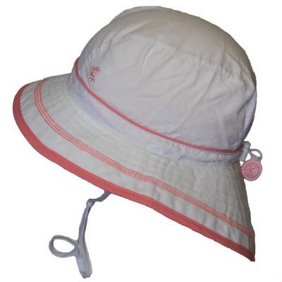 Chapeau d'été blanc Calikids