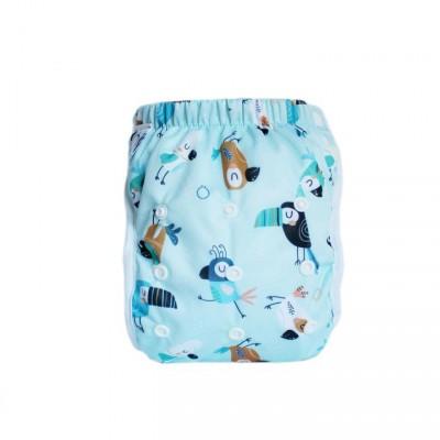 Couche-maillot lavable Toucan Omaîki