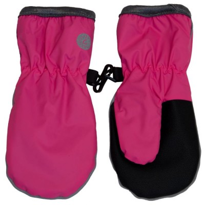 Mitaines imperméables rose Calikids