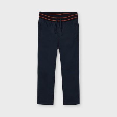 Pantalon marine taille élastique Mayoral