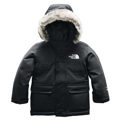 Manteau hiver noir fourrure North Face
