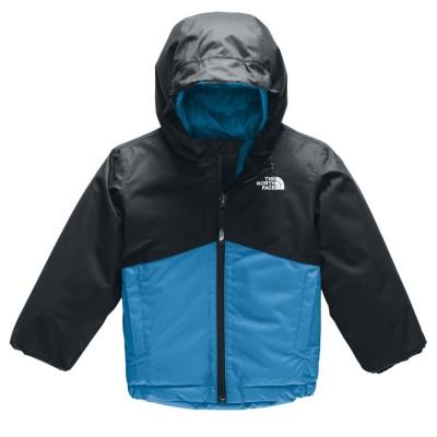Manteau d'hiver bleu/noir North Face