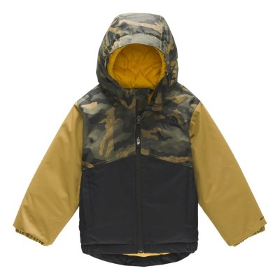 Manteau hiver camouflage North Face