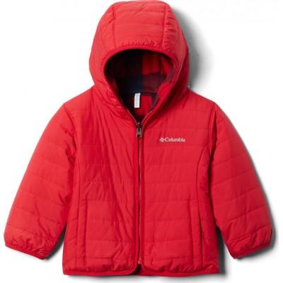 Manteau mi-saison rouge Columbia