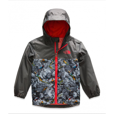 Manteau imperméable gris North Face