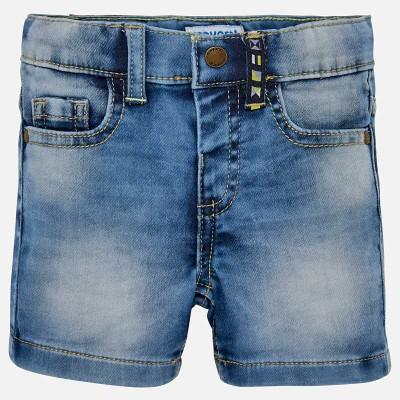 Bermuda jeans délavé bébé Mayoral