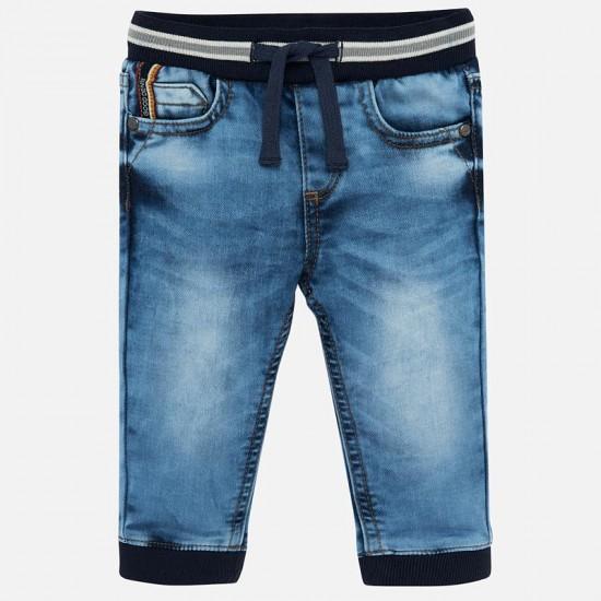 Jeans jogger pâle Mayoral