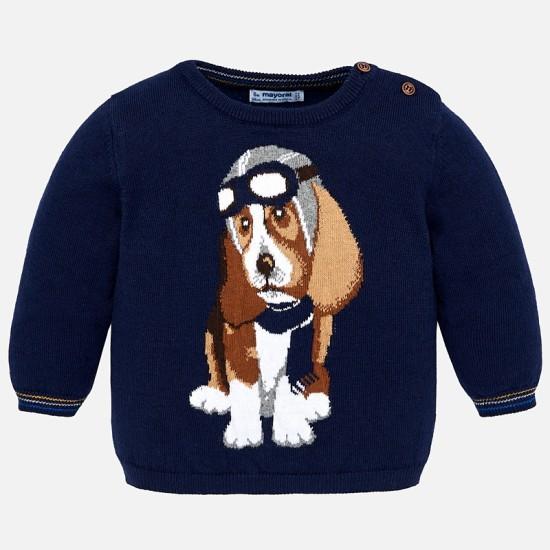 Chandail tricot petit chien Mayoral