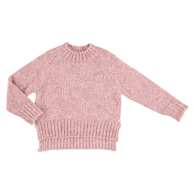 Chandail pull paillette rose Mayoral