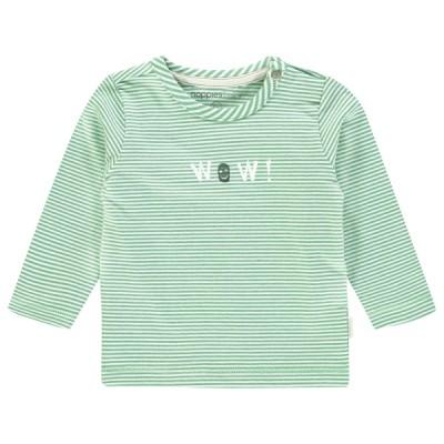Chandail rayé vert bébé Noppies