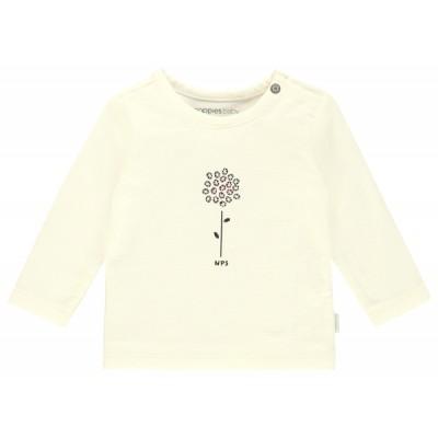 Chandail blanc fleur Noppies