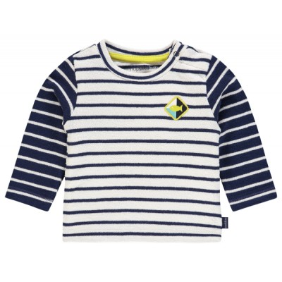 Chandail rayé blanc/marine Noppies