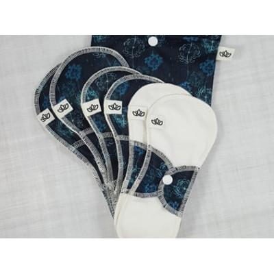 Ensemble de départ serviettes hygiéniques lavables Omaïki