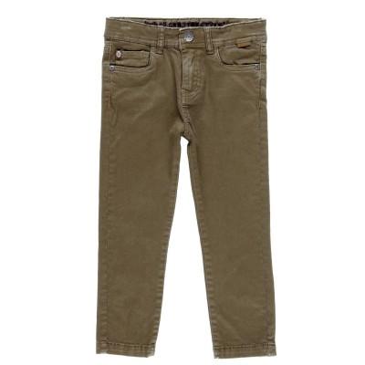 Pantalon jeans beige foncé Boboli