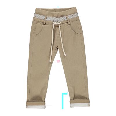 Pantalon beige garçon UUni
